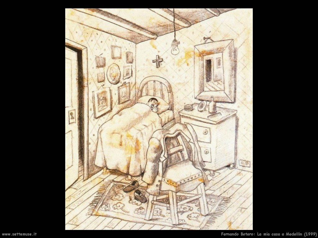 Fernando Botero_la_mia_casa_a_medellin_1999