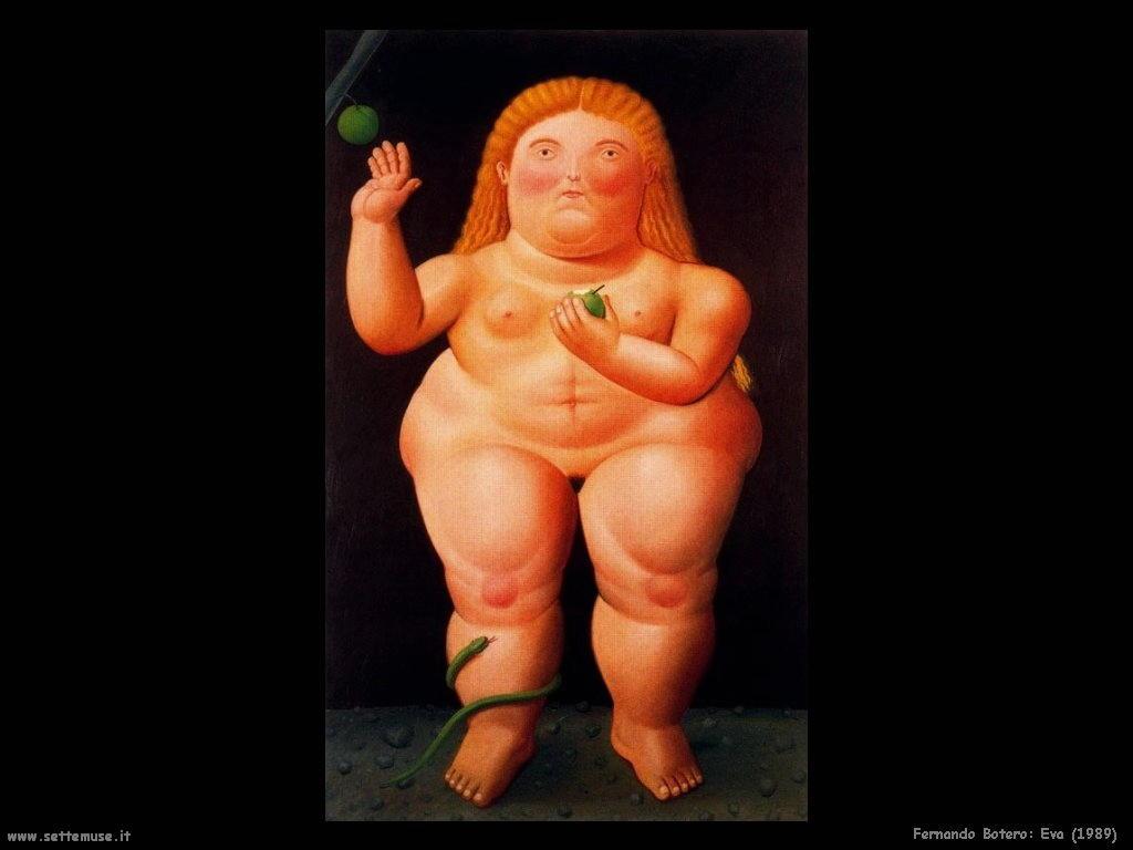 Fernando Botero_eva_1989