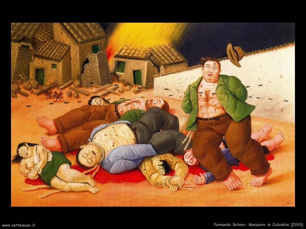 Fernando Botero_massacro_in_colombia_2000