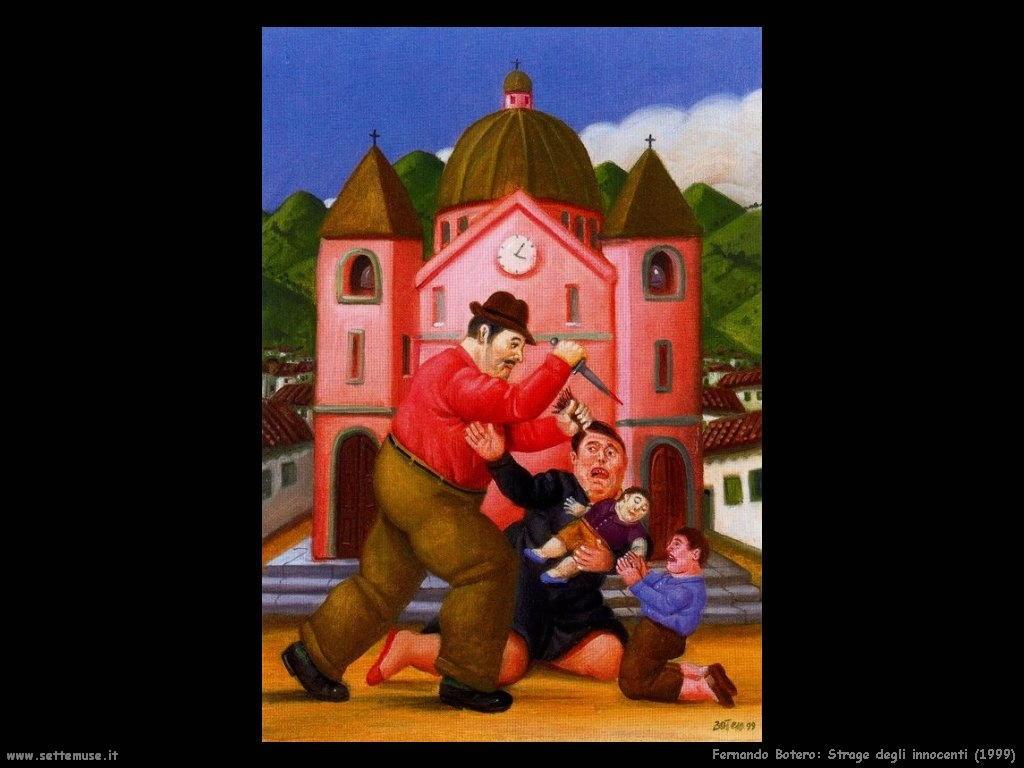 Fernando Botero strage_degli_innocenti_1999