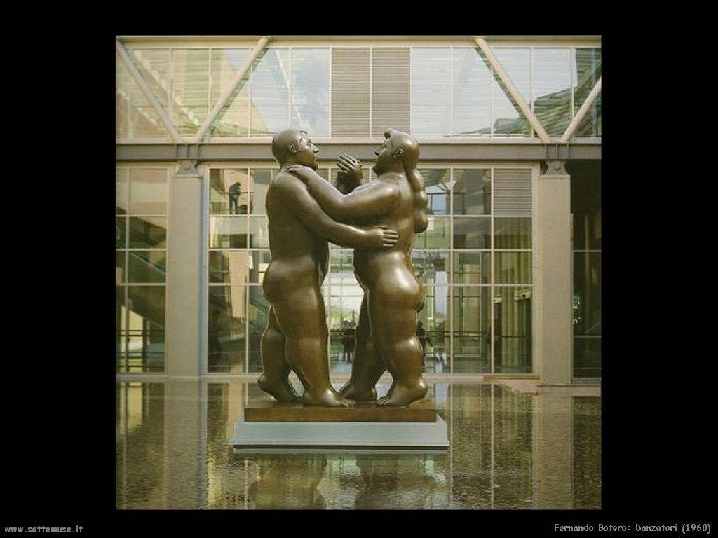 Fernando Botero danzatori_1960