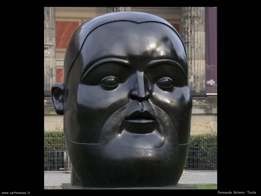 Fernando Botero_testa