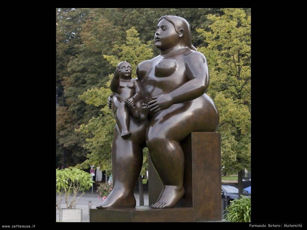 Fernando Botero_maternità
