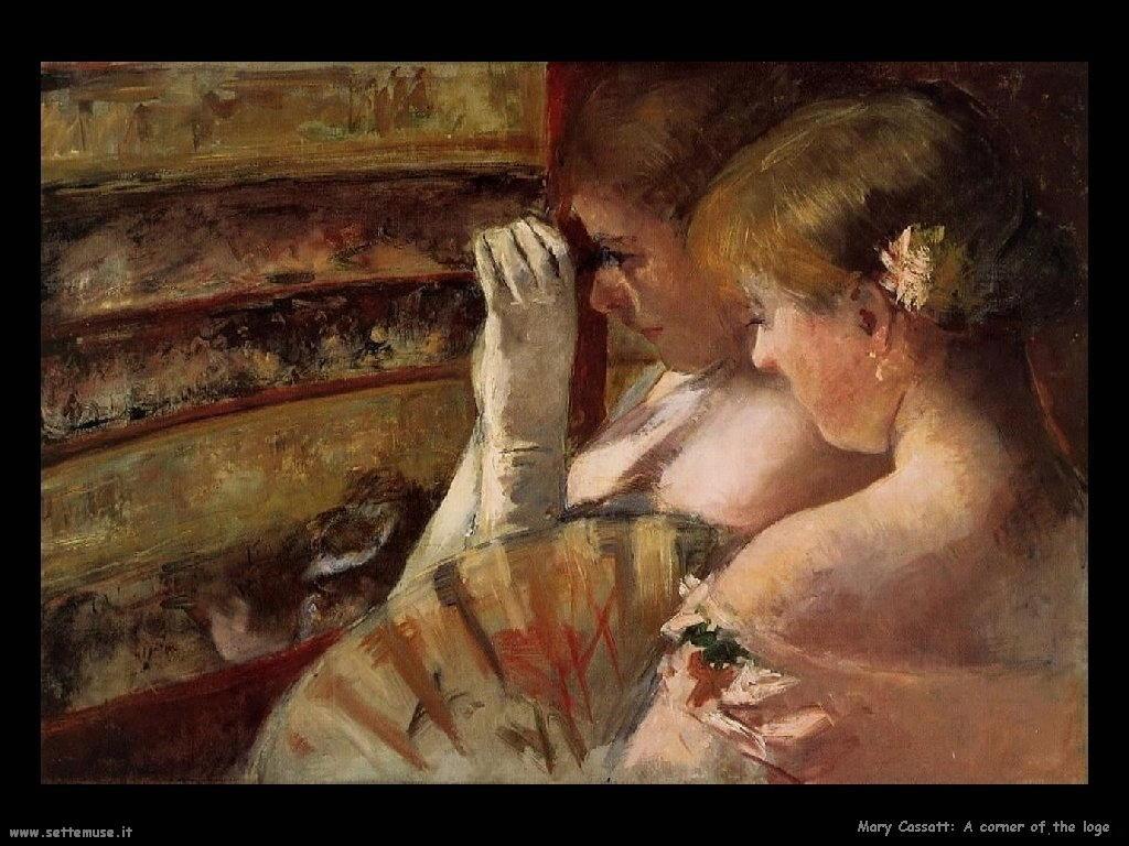 Mary Cassatt_un Angolo del Longe