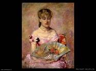 Mary Cassatt Signora con ventaglio