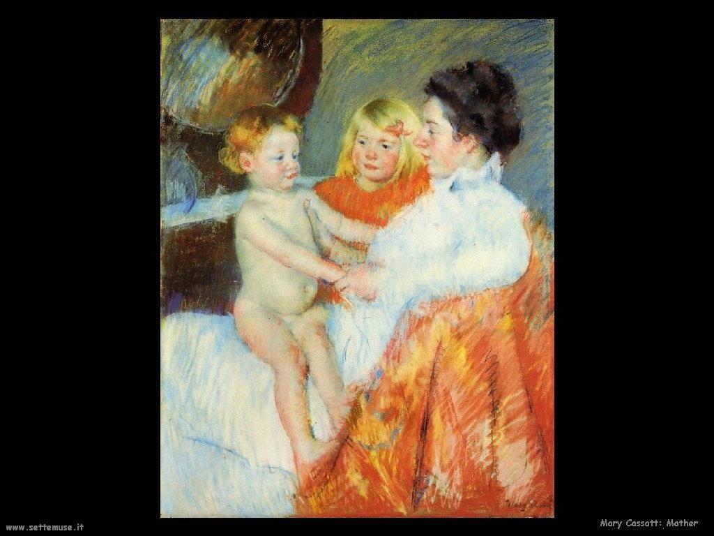 Mary Cassatt Mamma