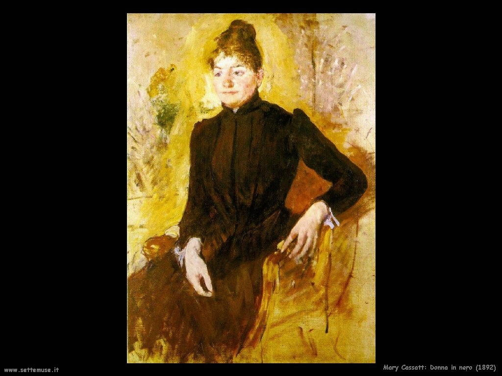 Mary Cassatt donna_in_nero_1892