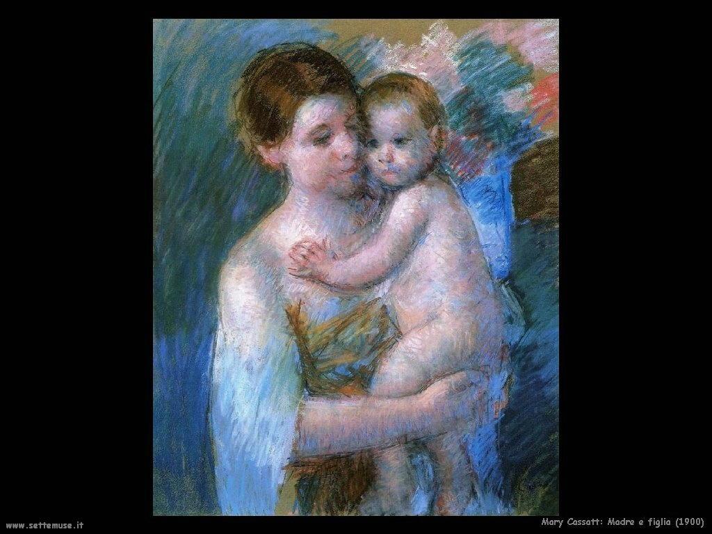 Mary Cassatt_madre_e_figlia_1900