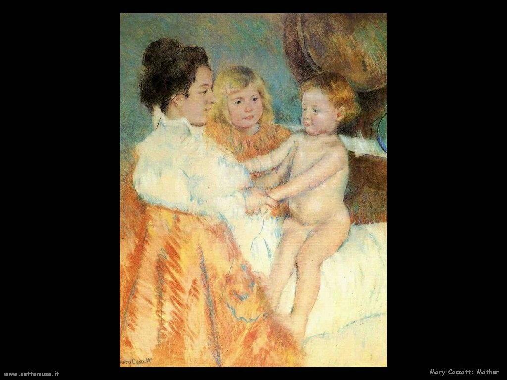 Mary Cassatt_Mother