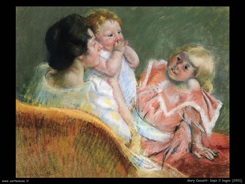 Mary Cassatt_dopo_il_bagno_1901 artwork