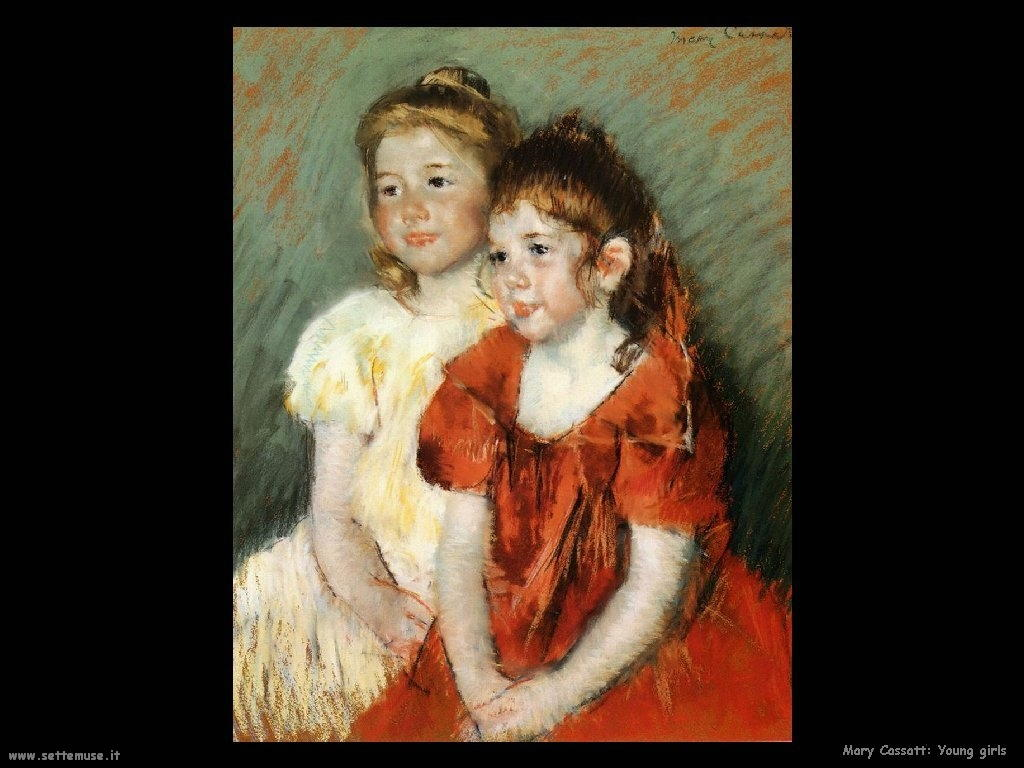 Mary Cassatt Giovani ragazze