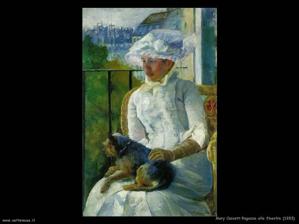 Mary Cassatt_ragazza_alla_finestra_1883