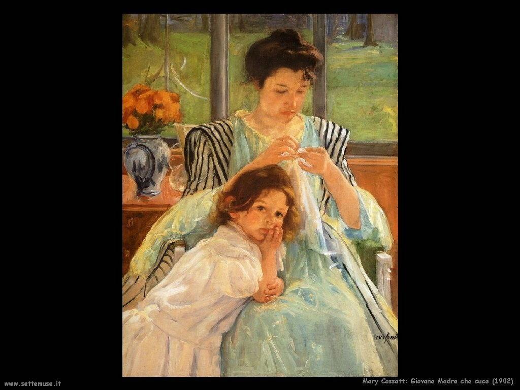 Mary Cassatt_giovane_madre_che_cuce_190 artwork
