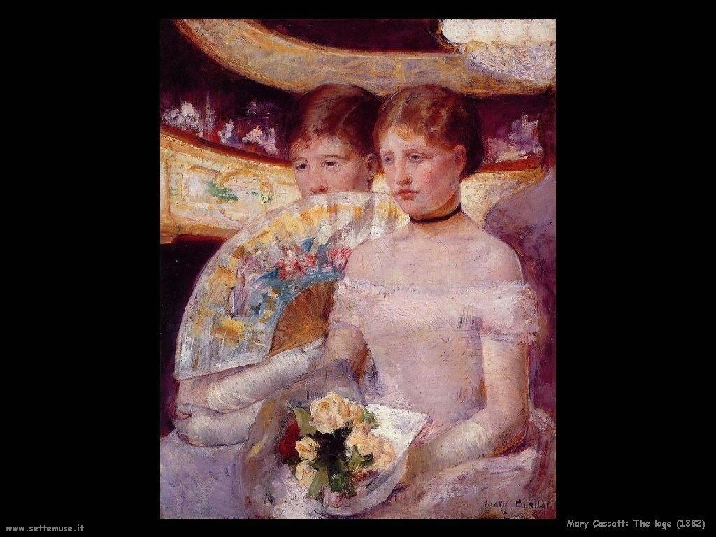 Mary Cassatt Il loggione