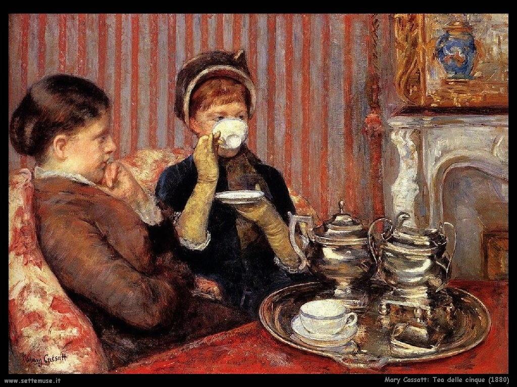 Mary Cassatt tea_delle_cinque_1880