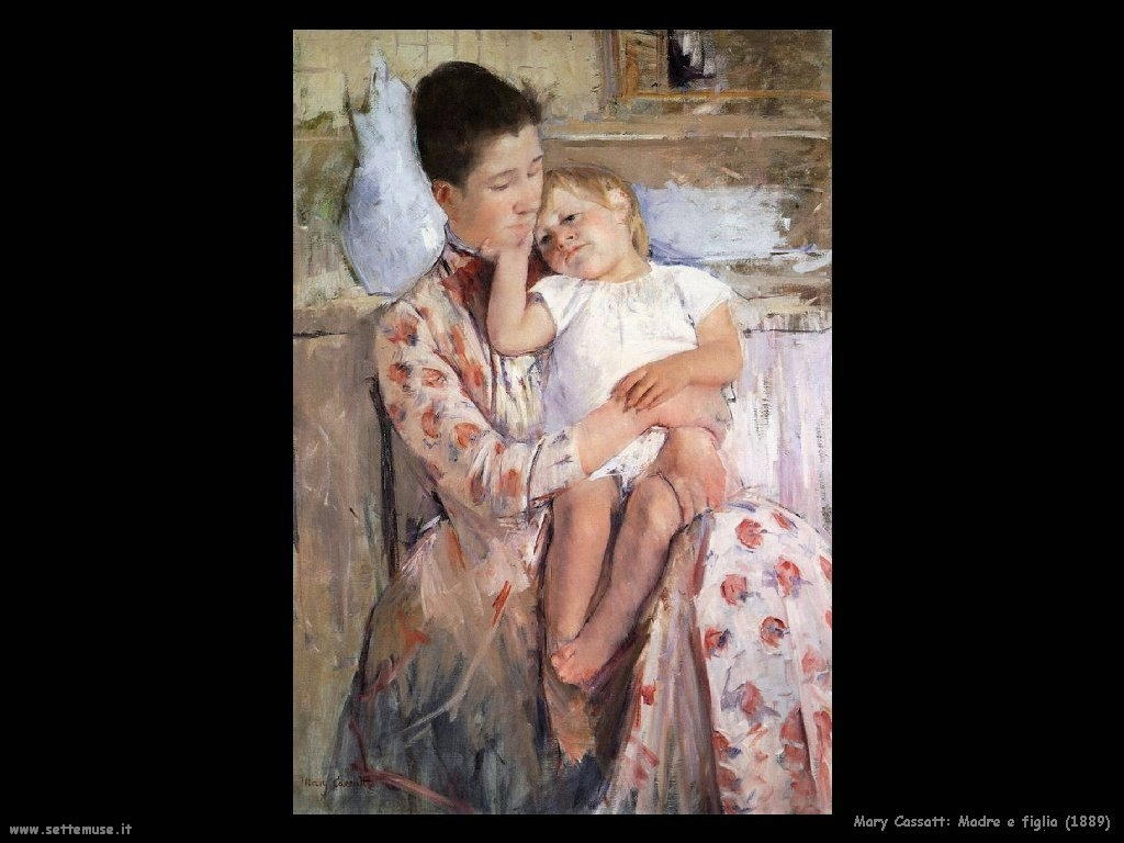 Mary Cassatt_madre_e_figlia_1889 artwork