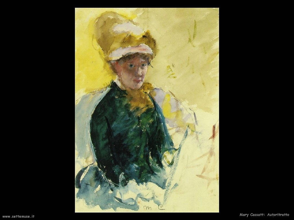 Mary Cassatt autoritratto