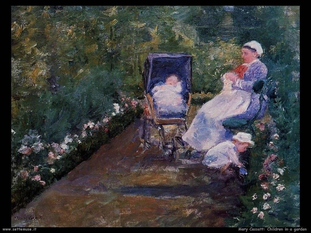 Mary Cassatt_Children_in_a_Garden