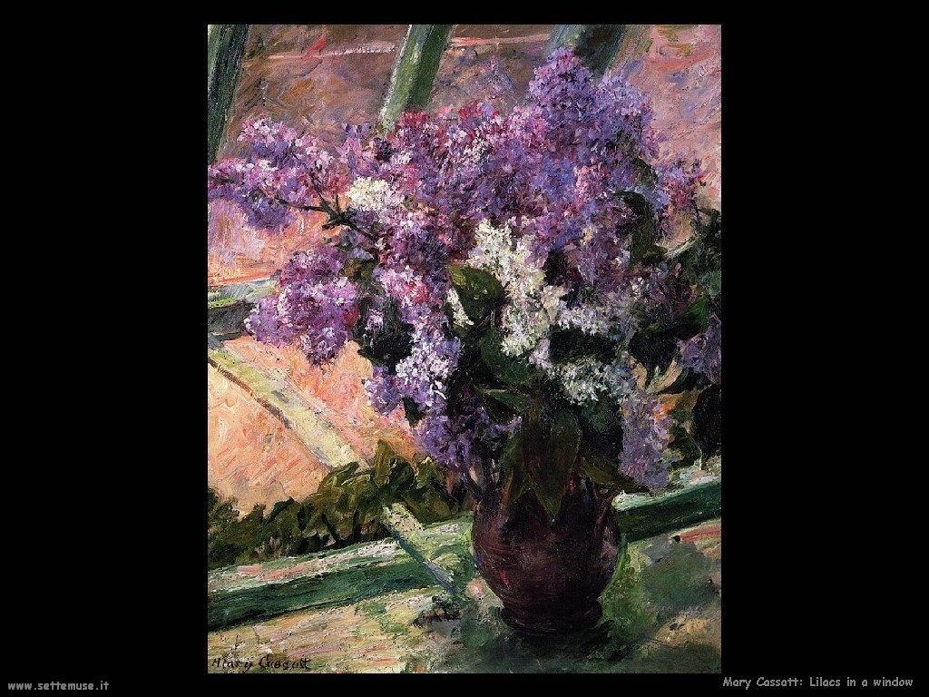 Mary Cassatt lilla alla finsetra
