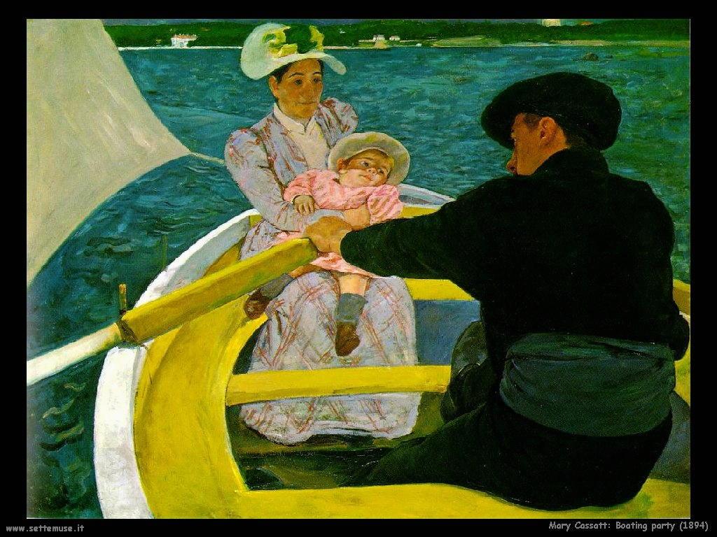 Mary Cassatt Canottieri 1894