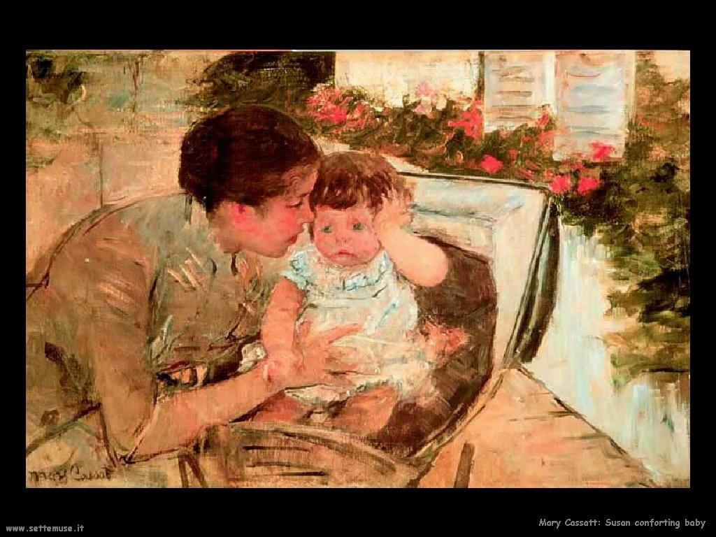 Mary Cassatt Susan confronta il bambino