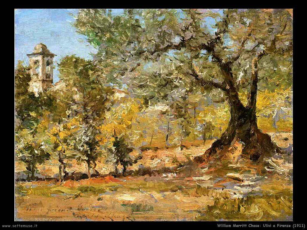william_merritt_chase_ulivi_a_firenze_1911