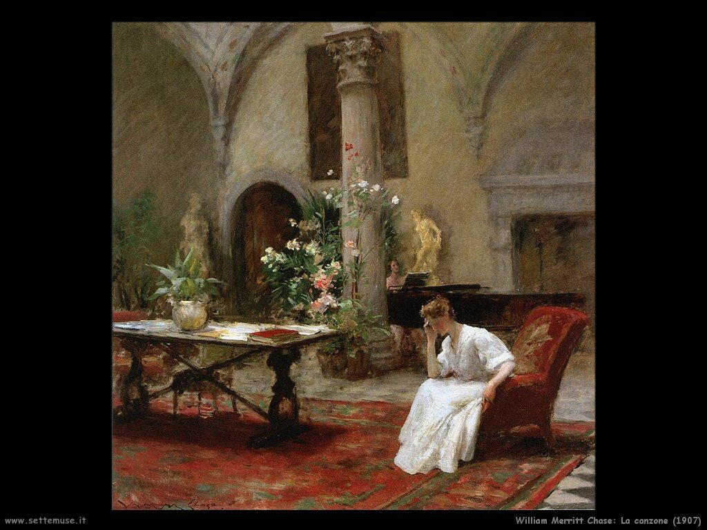 william_merritt_chase_la_canzone_1907