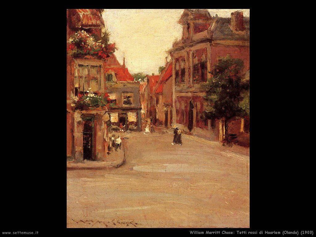 william_merritt_chase_tetti_rossi_di_haarlem_olanda_1903