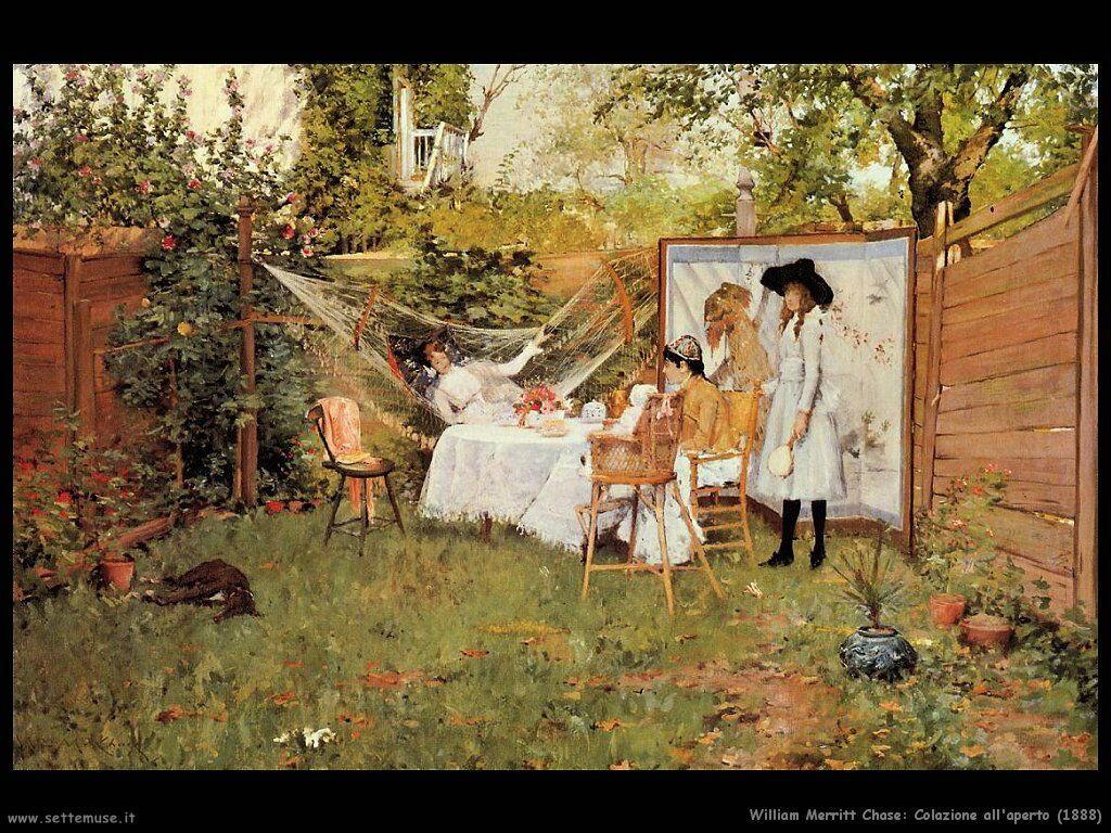 william_merritt_chase_colazione_all_aperto_1888