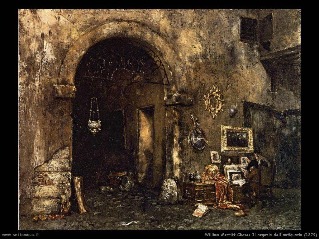 william_merritt_chase_il_negozio_antiquario_1879