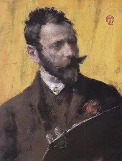 Autoritratto di William Merritt Chase