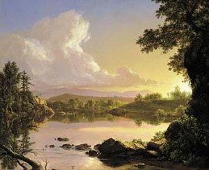Pittura di Frederick Edwin Church