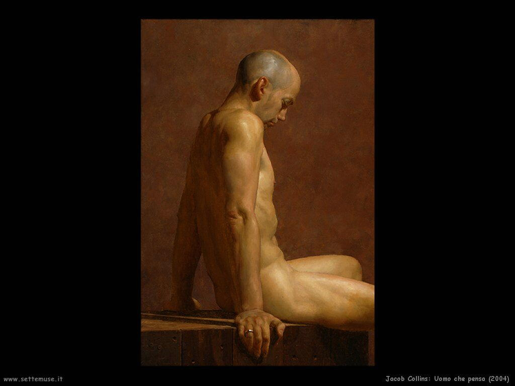 jacob_collins_thinking_man_2004