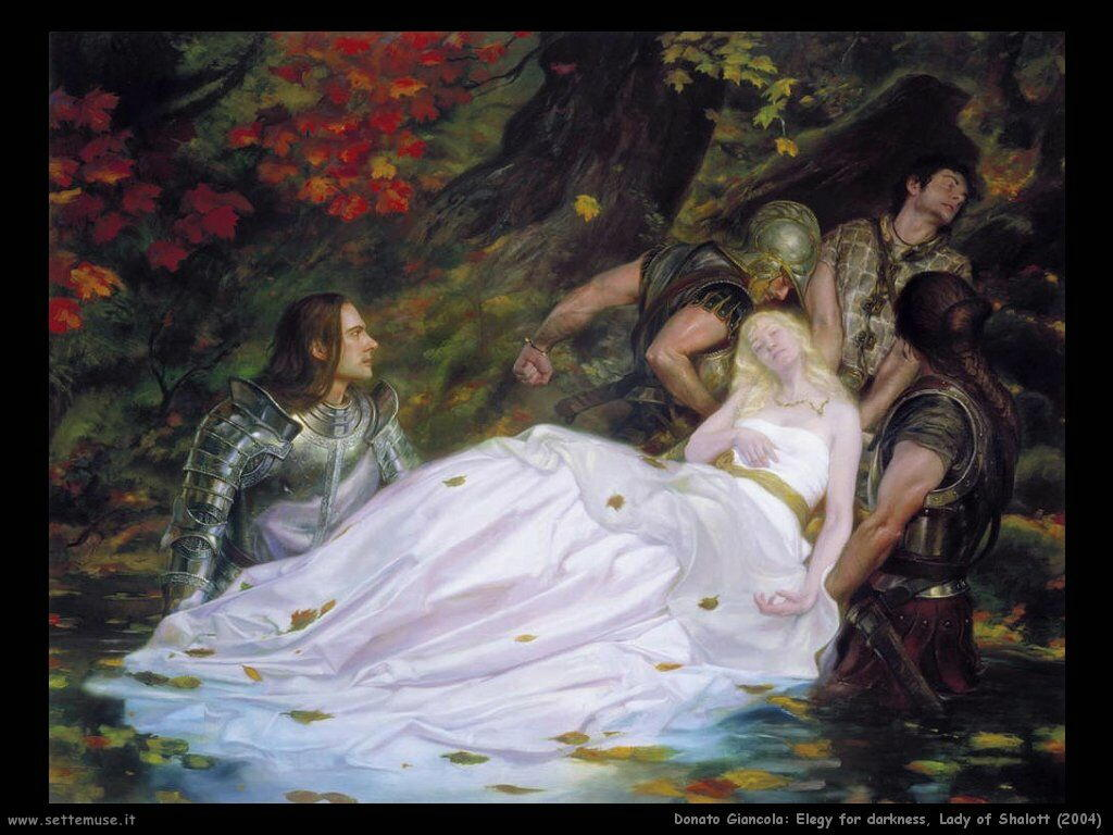 donato_giancola_elegy_for_darkness_lady_of_shalott_2004