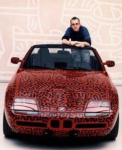 Auto di Keith Haring