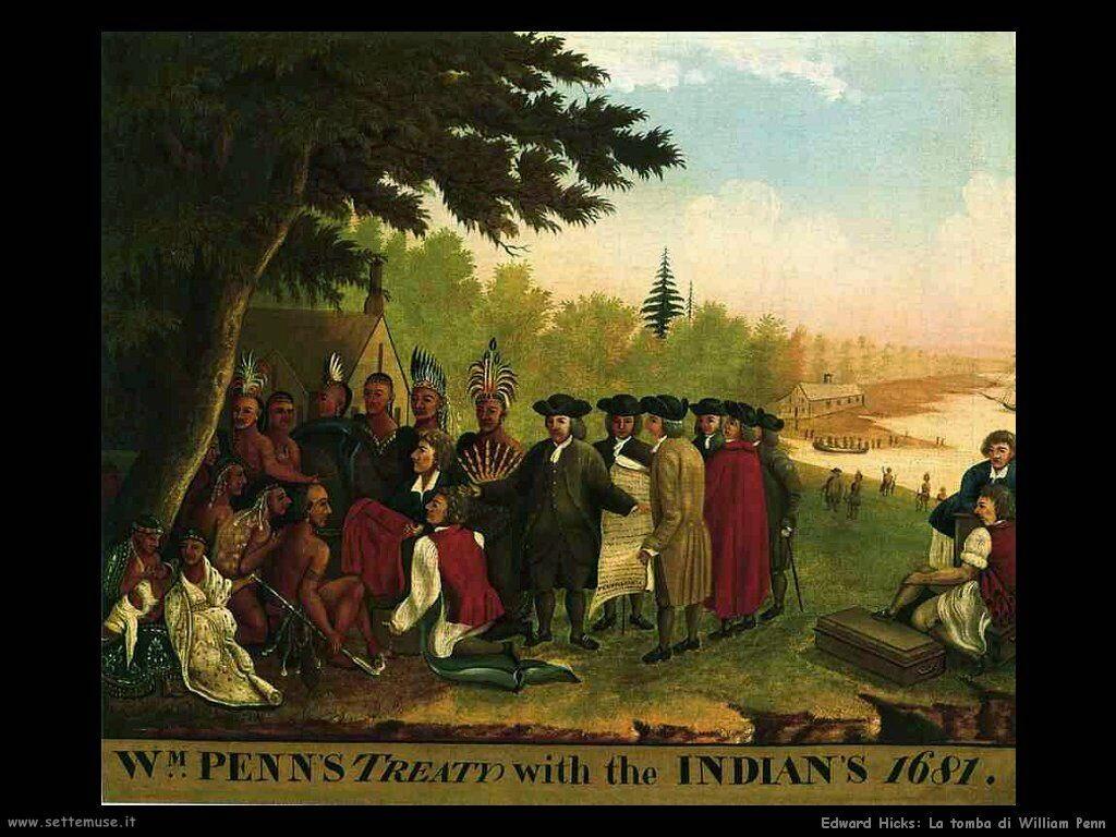 edward_hicks_Tomba di William Penn