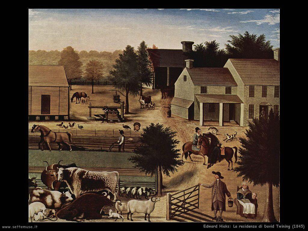 edward_hicks_La residenza di David Twining (1845)