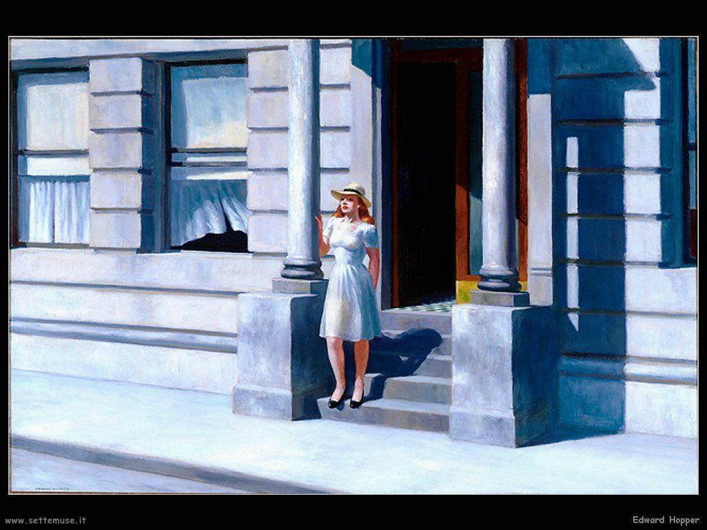 Edward Hopper Pittore Biografia Opere