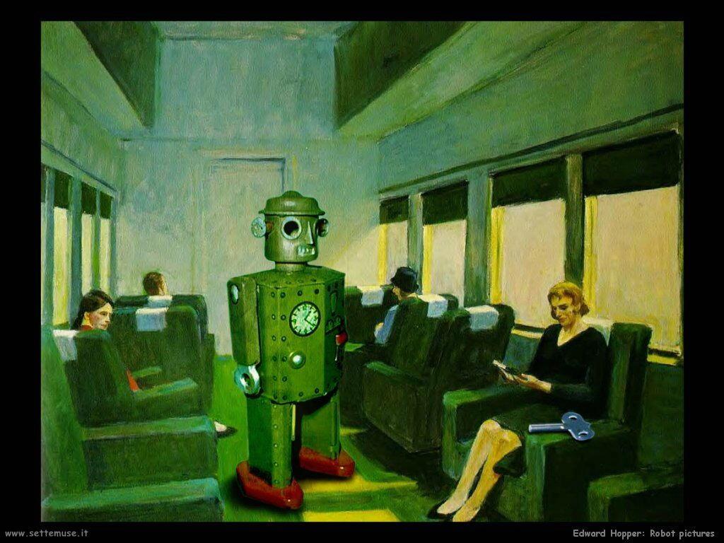 edward_hopper Robot Foto