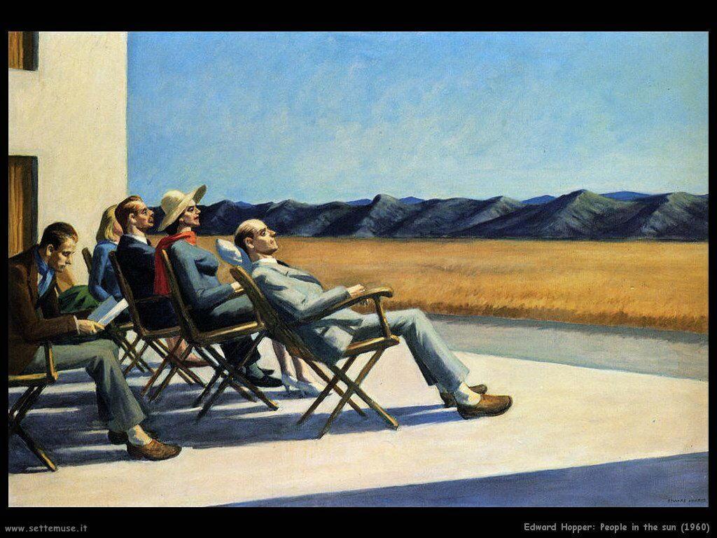 edward_hopper_Persone al Sole (1960)