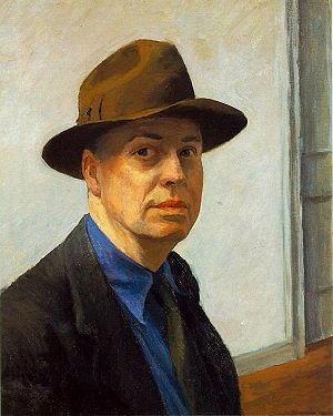 Autoritratto di Edward Hopper