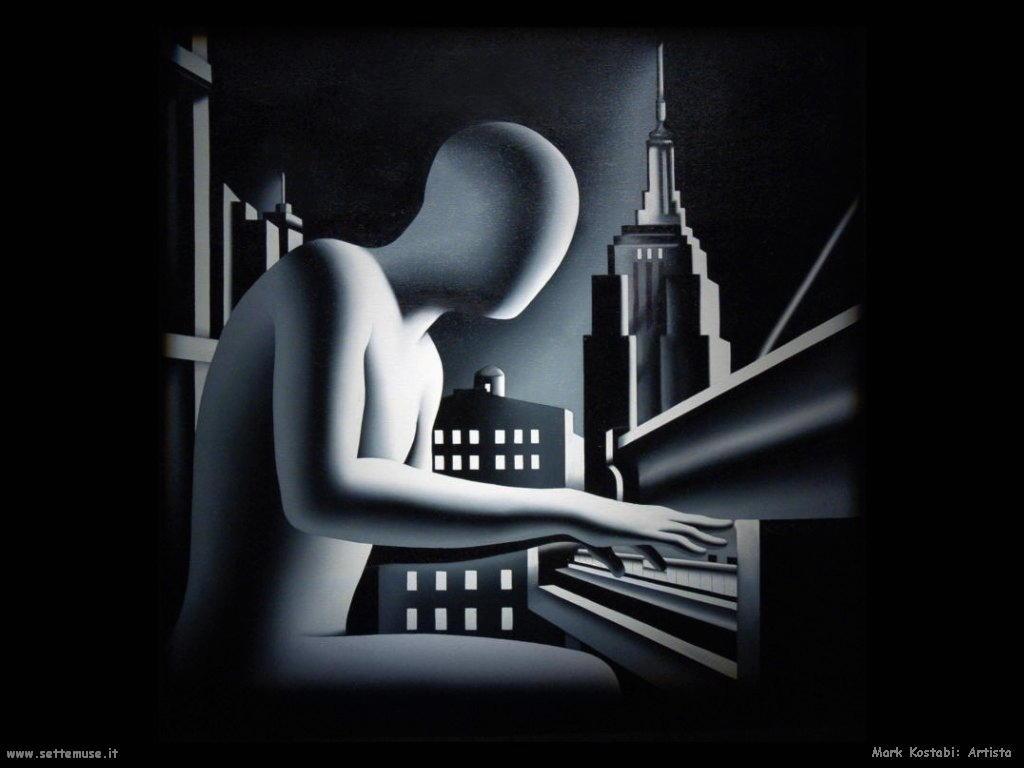 Mark Kostabi_artista artwork