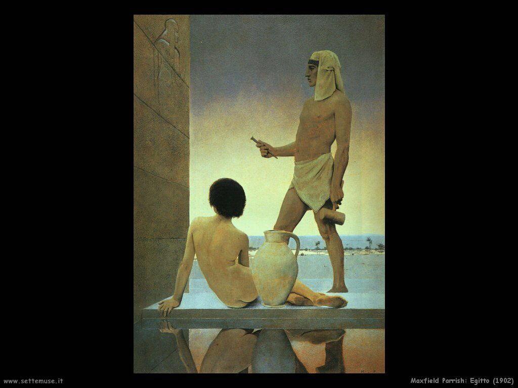 Frederick Maxfield Parrish Egitto (1902)