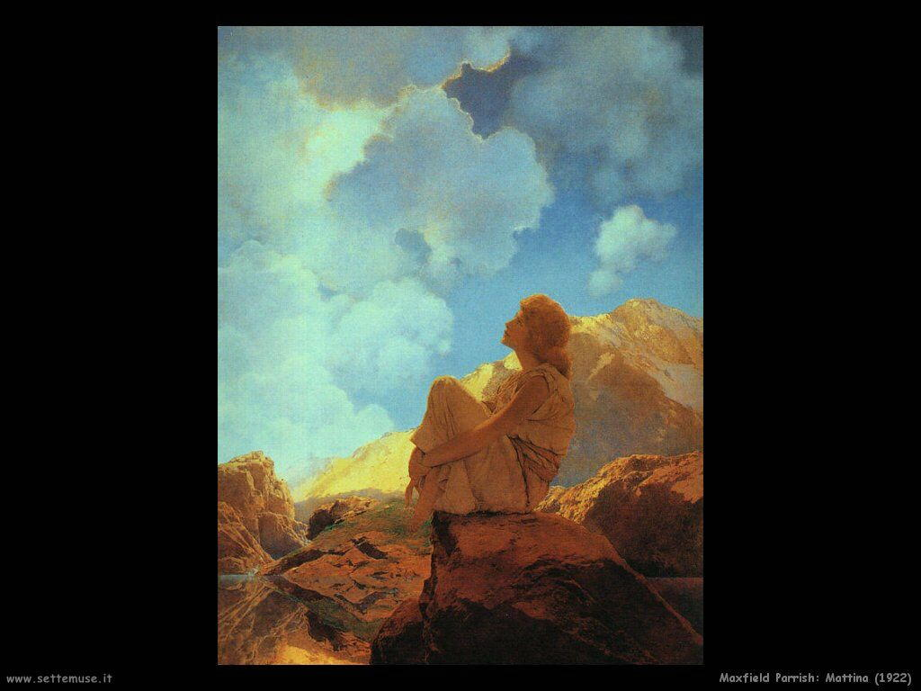 Frederick Maxfield Parrish Mattina (1922)