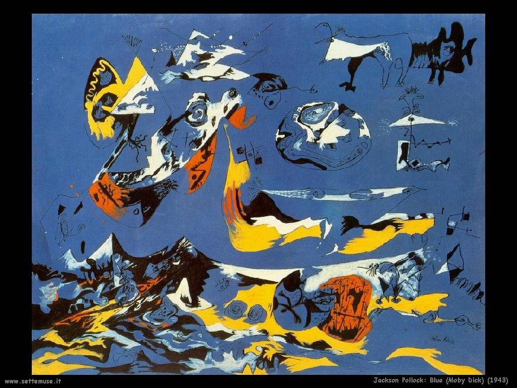 jackson_pollock_Blu moby dick (1943)
