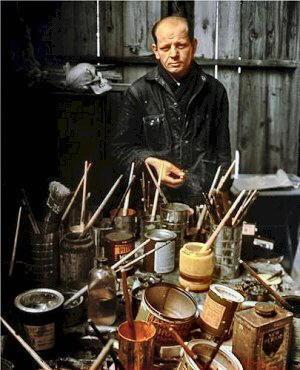 Foto di Jackson Pollock