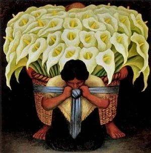 Pittura di Diego Rivera