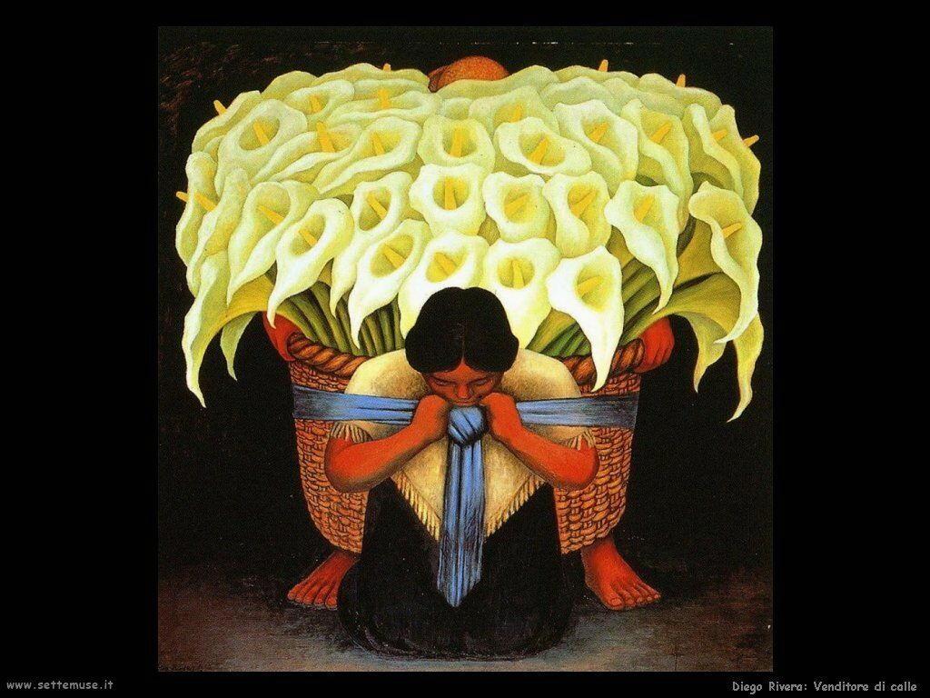 Diego Rivera venditore di calle