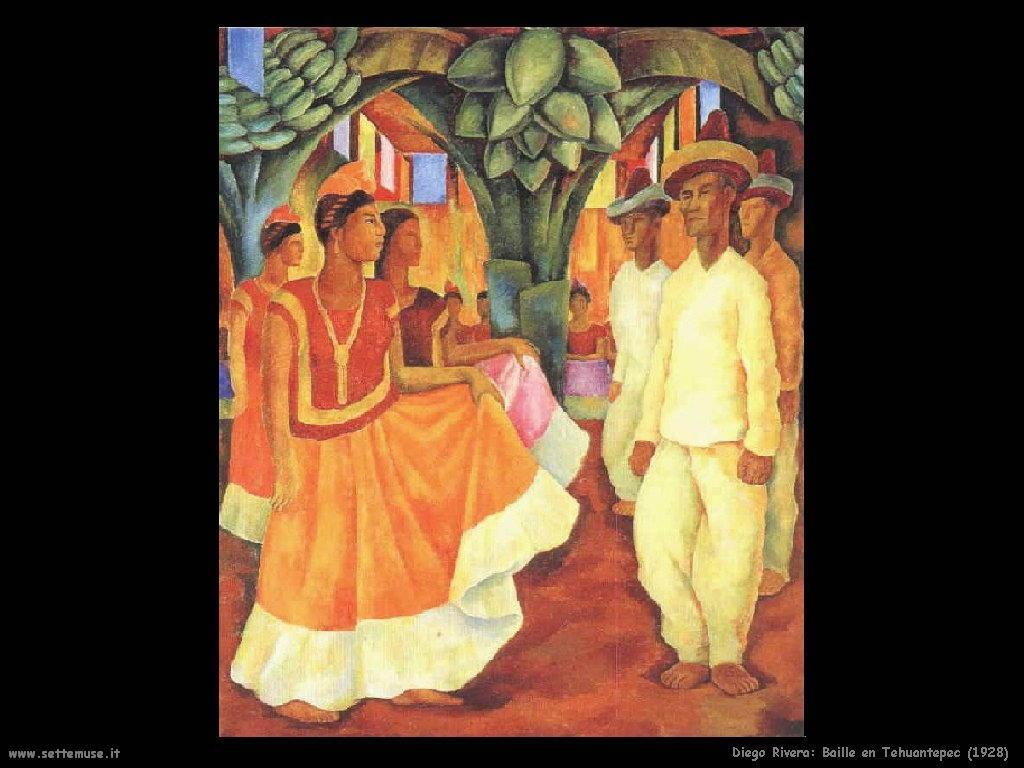 Diego Rivera Ballo a Tehuantepec 1928