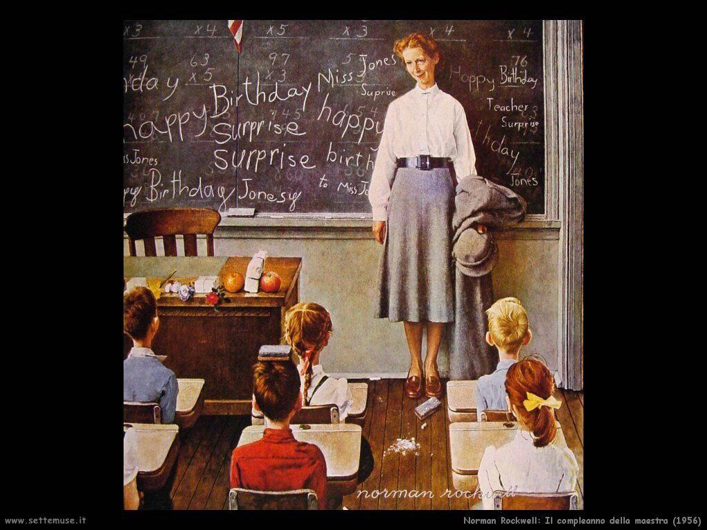 norman rockwell pittore biografia opere